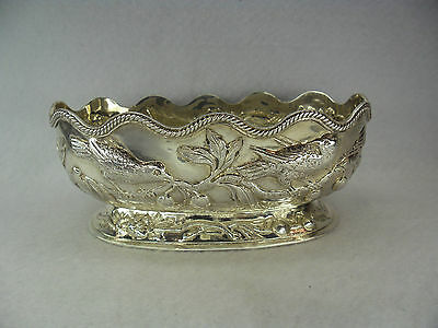Sterling Solid Silver Sweet Dish by Charles Stuart Harris, London 1886