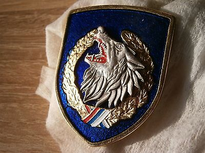 Jso Special Operation Police Unit Not Original Badge For Hat Serbia