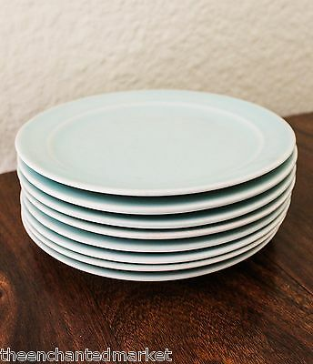 "Taylor Smith & Taylor LURAY PASTELS Green 6 3/8"" Bread Butter Plate (Set of 8)"