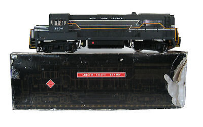 Aristo-Craft Train . Nyc/ny Central, Loft Find, Spares Or Repairs, G Gauge
