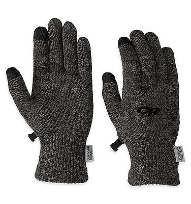 Outdoor Research Womens Biosensor Liners Charcoal, Large