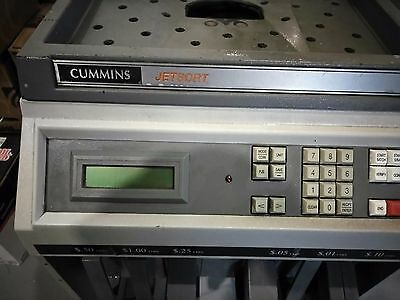Cummins JetSort 2000 - High Speed Coin Sorter/Counter