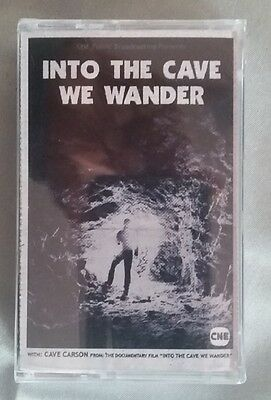 INTO THE CAVE WE WANDER 2016 Cassette Tape Gerard Way Limited