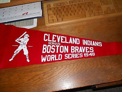 1948 cleveland indians pennant