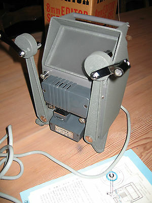 Yashica Super-8PE 8mm movie film editor editing machine, excellent condition