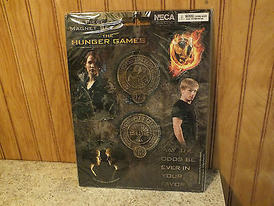 The Hunger Games 8 Piece Magnet Set - Brand New