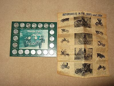 Historic Car Collection Coins And Old Paper Cars