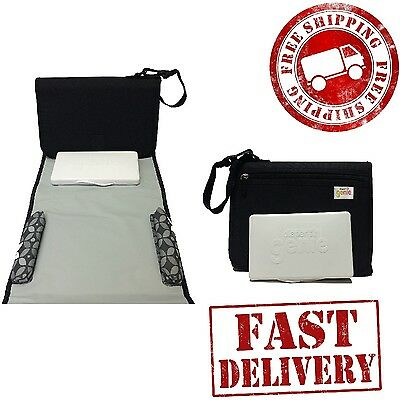 Baby Changing Pad Diaper Change Station Waterproof Cover Infant Easy Travel Kit