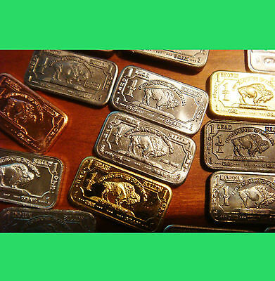 20 Different .999 Pure Bullion Bars. Almost every 1 gram collector bar made