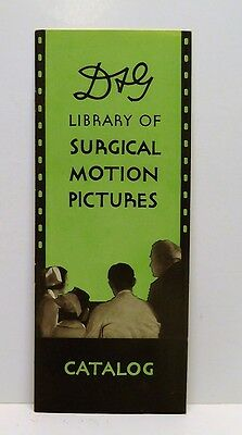 Rare Davis & Geck Library Of Surgical Motion Pictures Catalog 1935