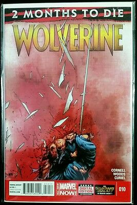 WOLVERINE #10, 2 Months to Die (2014 Marvel NOW Comics) NM Comic Book