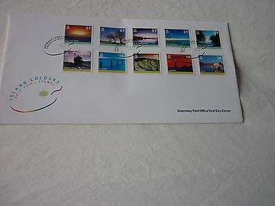 Guernsey 2001 FDC
