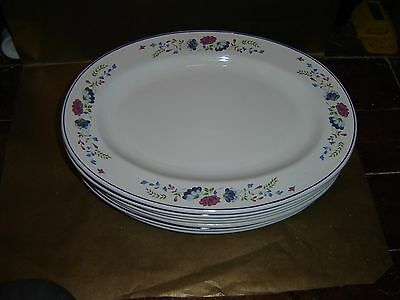 british home stores bhs priory large oval plate platter serving (8 available)