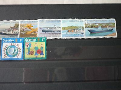Guernsey Stamps 2sets 1981&1985 Mint