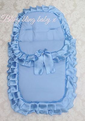 Universal Pram Seat, Pushchair Cosytoes , Footmuff Liner Frilly Romany Bling
