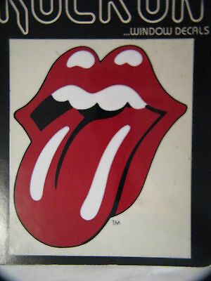 Vintage Rock N Roll Music The Rolling Stones Sticker Decal