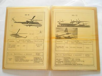 Aviation Yugoslavia manual book,army JNA,USSR airplane MIG 17 19 21,helicopter