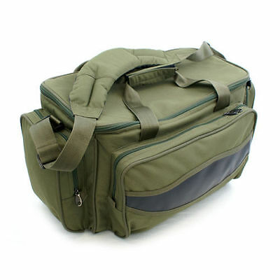 Ngt Carp Fishing Green Carryall Tackle Bag Holdall Fully Insulated 909