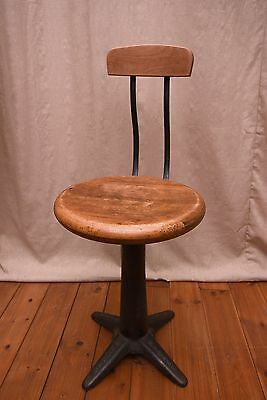 vintage industrial singer sewing machine stool cast iron