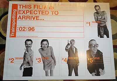 Trainspotting Teaser UK Quad Film Poster