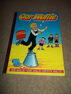 Vintage OOR WULLIE Annual 1990, PB, Unclipped, Nice, Shape, See others & Combine