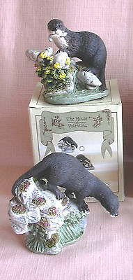 2 OTTER  Ornaments  from the Valentina Collection New & Boxed