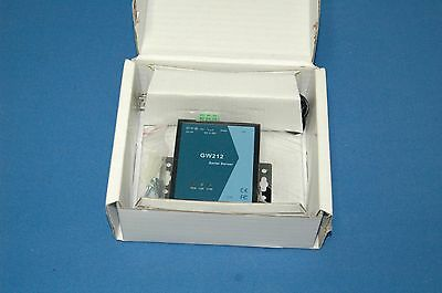 GW212 Serial Server 1 Port RS-232 Serial to IP Ethernet Device Server NEW