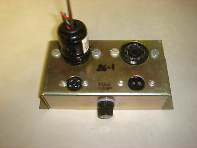 Leslie 26-1 Conector Box For A,l&m100 Hammond To 25,125,145&147 Leslies