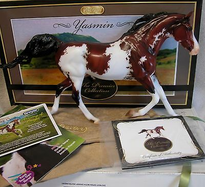 Breyer 90181 2016 Premier Club Yasmin Shagya Arabian COA/bag/box