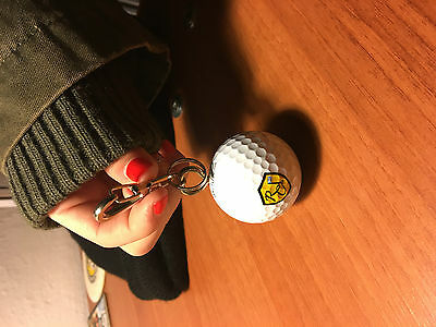 The Renaissance Club Vintage Key Ring Rare Scotland Scottish