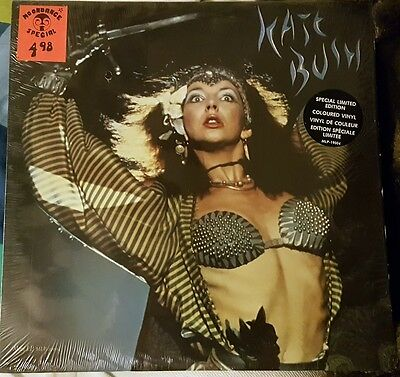 Kate Bush Mini Album LP White Vinyl Canada Only Ne T'enfuis Pas MLP 19004 Ex/Ex