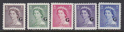Canada Official #o33-7 Wilding G Ovp  Mint Nh