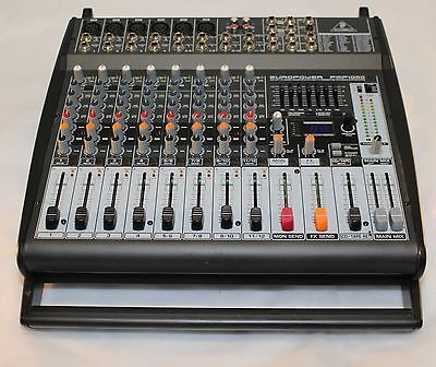 Behringer Europower PMP1000 12 Channel Power Mixer with Multi Effects Processor