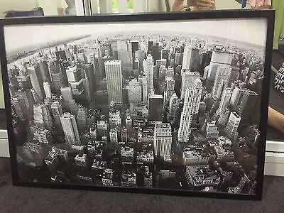New York City picture brand new black and white