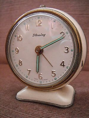 Vintage Alarm Clock Blessing Made in Germany