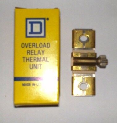 Square D Overload Relay Thermal Unit B6.25, Nib