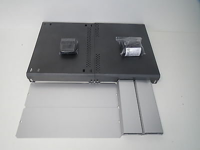 0 531050 table housing 400x300x130 Aluminum Anthracite Axxatronic CDIC00007