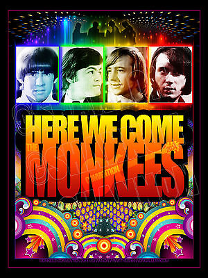 MONKEES CONVENTION 2014 Poster 2nd Annual NJ Event Collectible 18x24 NEW