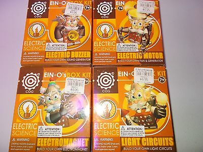 COG EIN-O's EIN Os Science BOX Kit Electrical complete set RARE Arduino