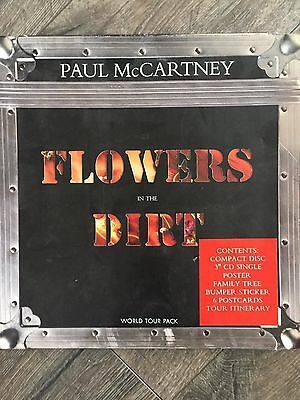 Paul McCartney Limited Edition Flowers in the Dirt World Tour Pack