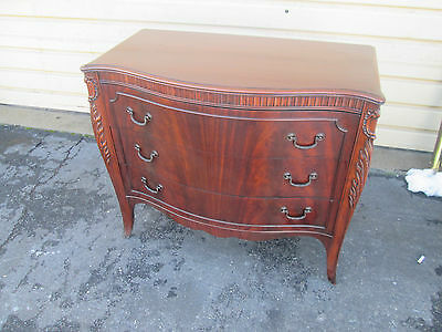56714 Antique Mahogany Buffet server Cabinet Chest