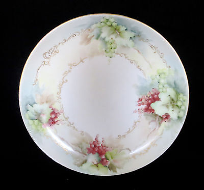 Antique Early Rosenthal Porcelain Hand Painted Plate c1900