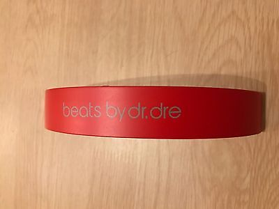 Top Headband for Beats by dr Dre Solo HD Headphone - Red