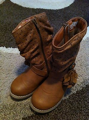 Brown Boots size 6UK