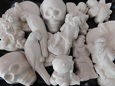 20 x ready to paint plaster figurines - Medium Size