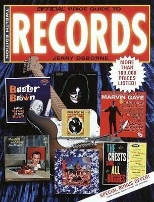 Official Price Guide to Records, 12th Edition (Twelfth Edition)
