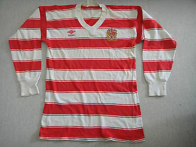 Vintage 1980's Wigan Rugby League Jersey.
