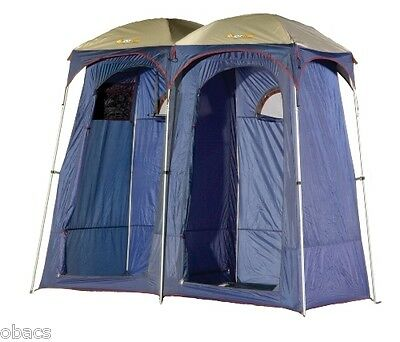 Oztrail Shower Tent Camping Ensuite Duo Change Room Toilet Double Rooms