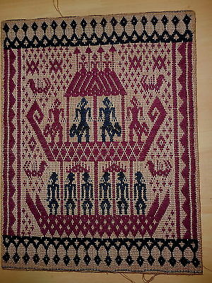 Asian Hand Worked Craft Woven Cotton