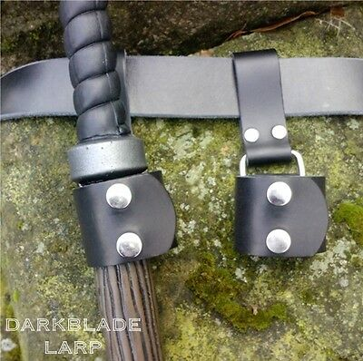 Larp Mace Clip axe holder hammer frog weapon loop cosplay stage costume